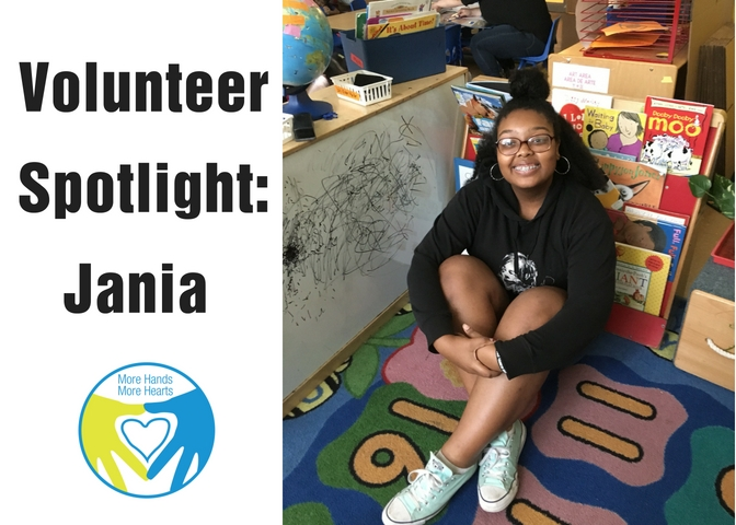Volunteer Spotlight Jania