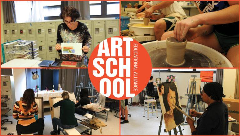 MCC Art School Art Classes Header