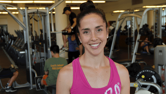 Group Exercise and Programing Director Carolina Walicki